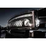 Western LED NightHawk Snowplow Headlights 16 Pin K