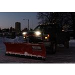 Western LED NightHawk Snowplow Headlights