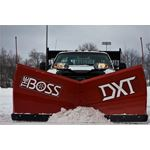 Boss 8.2 Steel Power V DXT V-Plow Scoop Mode