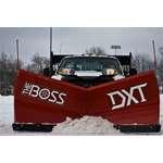 Boss 9.2 Steel DXT V-Plow Scoop Mode