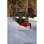 Western 8.5 Steel MVP PLUS V Plow Angle Plowing