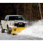 "Fisher 7.6"" HD Series Snowplow Plowing-3"