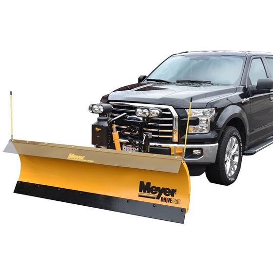 Meyer 7.6' Drive Pro Steel Mount Snowplow 01
