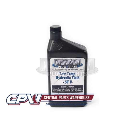 Western Aftermarket Snowplow Low-Temp Oil - 1 Qrt-