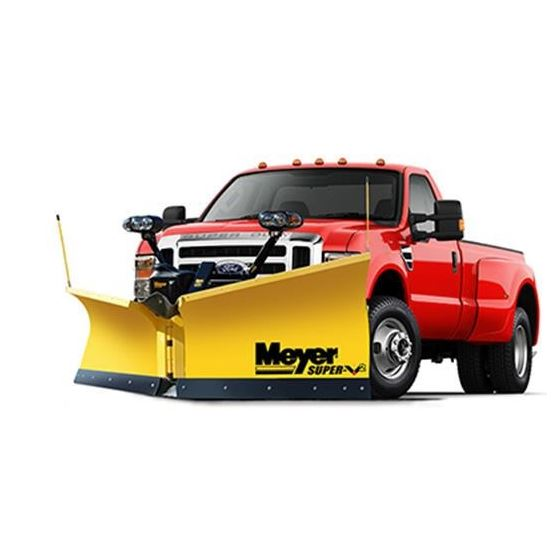 Meyer 10.5 Steel Super V2 Snowplow