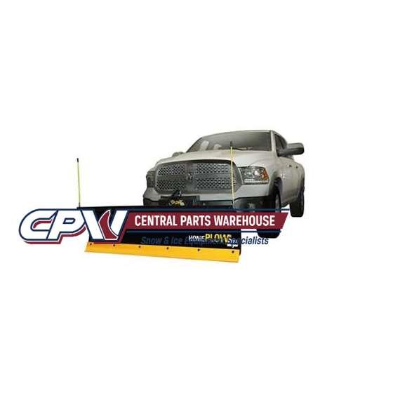Meyer 6.8' HomePlow Hydraulic Angle Snowplow 03