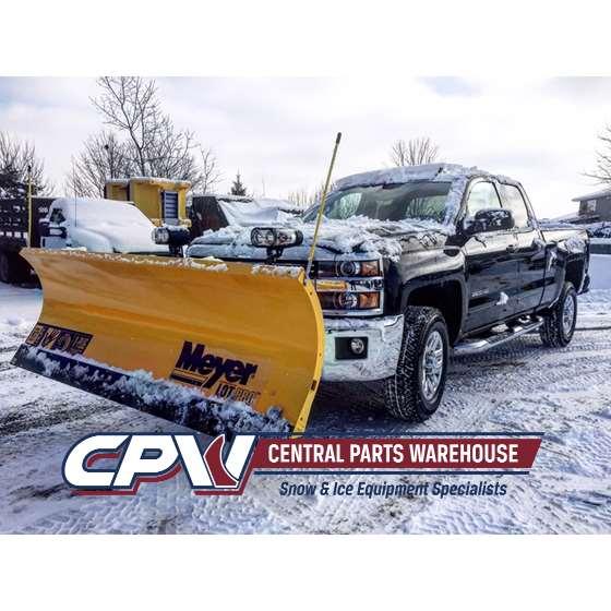 Meyer 8.5 Steel Lot Pro Snowplow